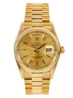 Rolex Day Date Watch by Vintage Rolex on Gilt.com