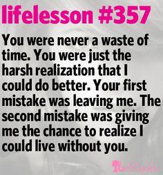 Little Life Lesson #357: Your Mistake | GirlsGuideTo