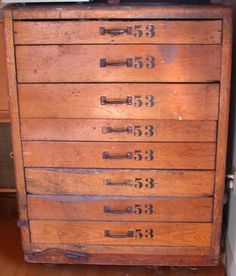 Rolling chest of drawers, circa 1920's. $850