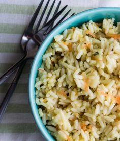 Erren's Kitchen - Vegetarian Rice Pilaf - This recipe for Vegetarian Rice Pilaf is quick, easy, and really delicious.