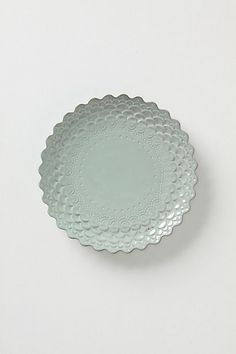 Piecrust Plate.