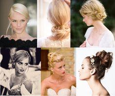 wedding hair- up