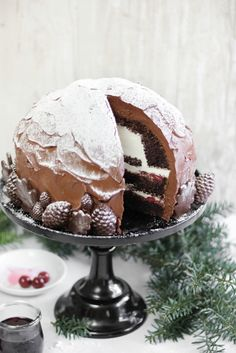 Sprinkle Bakes: Black Forest Dome Cake #chocolates #sweet #yummy #delicious #food #chocolaterecipes #choco #chocolate