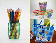 Perfect for a desk top pencil holder