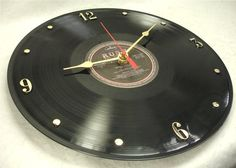 RUSH Exit Stage Left  Recycled Vinyl Record  Wall by ItsOurEarth