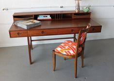 Mid Century Desk by sprucehome on Etsy, $2400.00