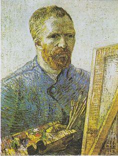 Van Gogh, Autoportret ze sztalugami