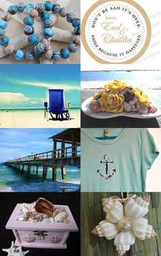 Going COASTAL!!!! by Lisa Lavender on Etsy--Pinned with TreasuryPin.com