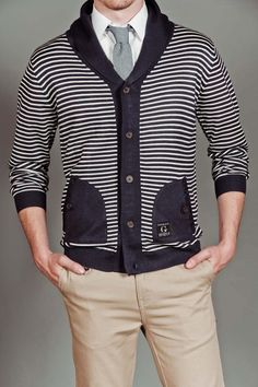 Goodale Spring Shawl Collar Cardigan
