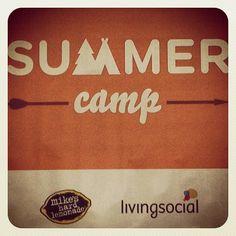 Adults still like summer camp.