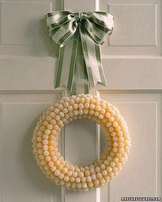 Christmas Gumdrop Wreath