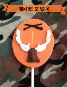 12 Deer Chocolate Lollipop Hunting Season Sweet Table Favors   AutumnLynnsSins - Edibles on ArtFire