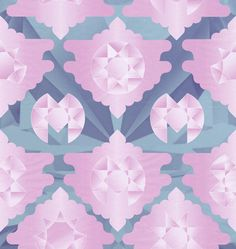 Pattern design for Marina and the Diamonds by Mogollon