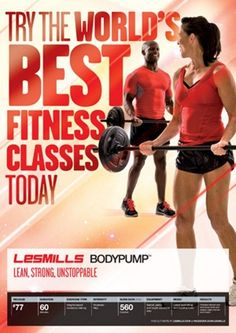 Les Mills Body Pump- best workout ever.