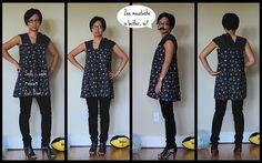 skirt to shirt refashion