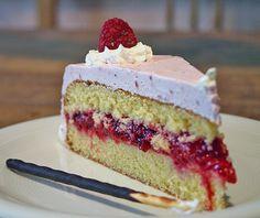 Mother's Day Raspberry Cake - original german recipe