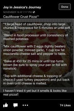 Califlower pizza califlow pizza, califlower pizza