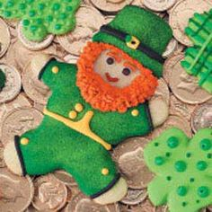 Lucky Leprechaun Cookies Recipe from Taste of Home