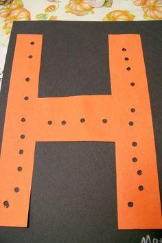 holes (fine motor)