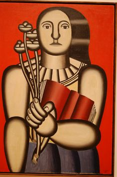 Woman with a Book, 1923  Fernand Leger