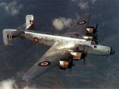 Handley Page Halifax B.VIII bomber.
