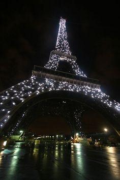 Eiffel Tower in diamonds