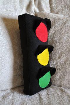 Traffic Light Plush Pillow PDF Tutorial by bedbuggspatterns