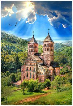 Murbach - Alsace - France