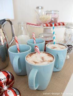 Nostalgic Hot Cocoa Station | Hot Chocolate Bar | Satori Design for Living