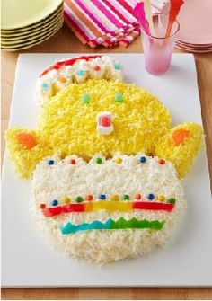 Baby Chick Cake – Hatch a new Easter tradition with this adorable Baby Chick Cake. Our instructions make it easy.