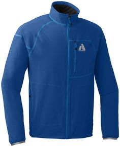 Sandstone Soft Shell Jacket | First Ascent. This jacket will make you want to get up at 5 a.m. for that training run when it's dark, cold, and drizzly.