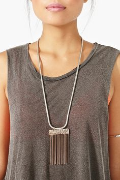 Snake Charmer Necklace - nastygal