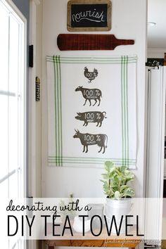 Tea towel {repin}