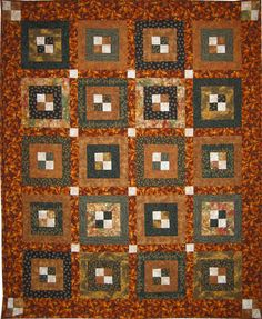 Maybe with a less busy-looking background and border? busylook background, earthi quilt