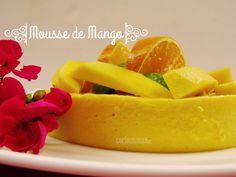 Receta de Mousse de Mango ligero