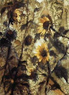 1971-sunflowers VALOY EATON Midway, Utah http://eatonimpressions.com/