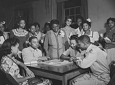 Mary McLeod Bethune at the Phyllis Wheatley YWCA in Washington, D. C.