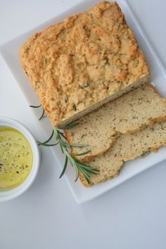 Rosemary Olive Oil Quick Bread - low carb