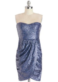 A wave of compliments rolls your way when your bridesmaids wear strut into your weddings in this sequined dress! Much like the elaborately wrapped gifts you hand out...