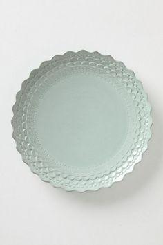 Piecrust Dinner Plate #anthropologie