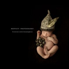 Cute Gumnut baby boy by Moffatt Photography