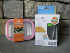 I love Innobaby products for ALL ages of people to Bento.  I have several for containers for snacks and ones I use for sauces.