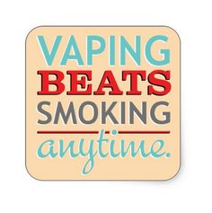 Vaping is a great alternative to smoking because vapor does not contain the toxic carcinogens found in tobacco products.