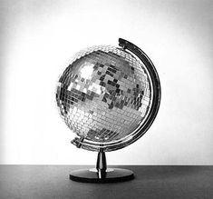 Globe disco ball!