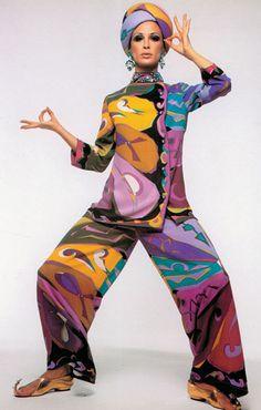 Vintage Mode Designer Muster Pucci