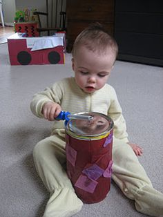 9 activities for a 1 year old.