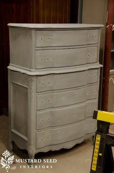 miss mustard seed milk paint repainted dresser