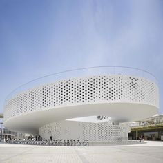 #Danish Pavilion at Shanghai Expo 2010 photographed by Roland Halbe - #architecture - ☮k☮ - modern