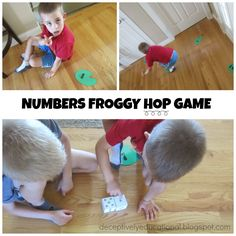 Relentlessly Fun, Deceptively Educational: Numbers Froggy Hop Game (free printable)