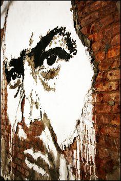 wall art, artists, farto aka, aka vhil, street art, etchings, buildings, alexandr farto, streetart